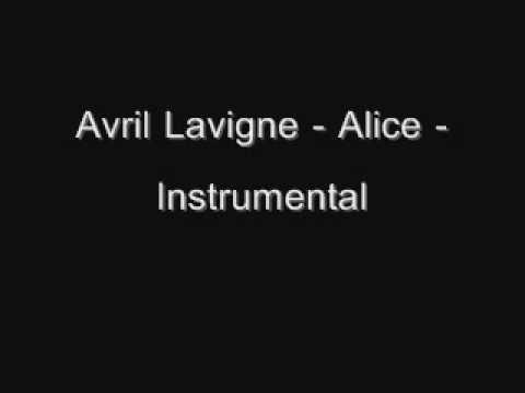 Avril Lavigne  Alice  Instrumental Download