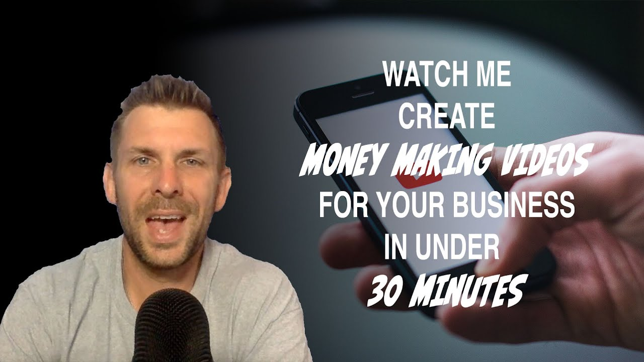 Watch As I Create 3 Social Media Videos For Businesses In Under 30 Minutes