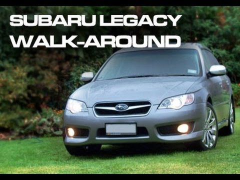 2008 subaru legacy 3 0 r spec b review startup youtube. Black Bedroom Furniture Sets. Home Design Ideas