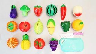 Кухня. Разрезаем овощи. Развлекающие и развивающие видео обзоры детских игрушек