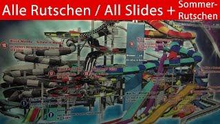 Best of Galaxy (Therme) Erding - Alle Rutschen & Sommerrutschen 2014 - Onride [Camcorder & Go Pro 3]