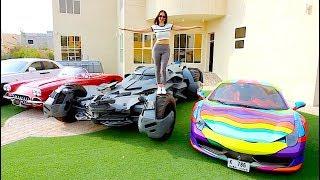 DUBAI CRAZY CAR COLLECTION *2019* !!!