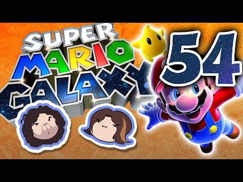 Super Mario Galaxy: Hot Like Lava - PART 54 - Game Grumps