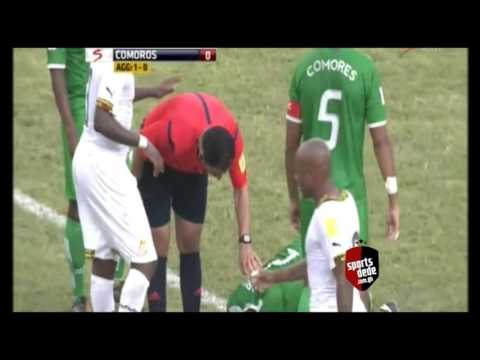 Ghana 2-0 Comoros - Goals & Highlights (2018 World Cup qualifier) 17/11/2015
