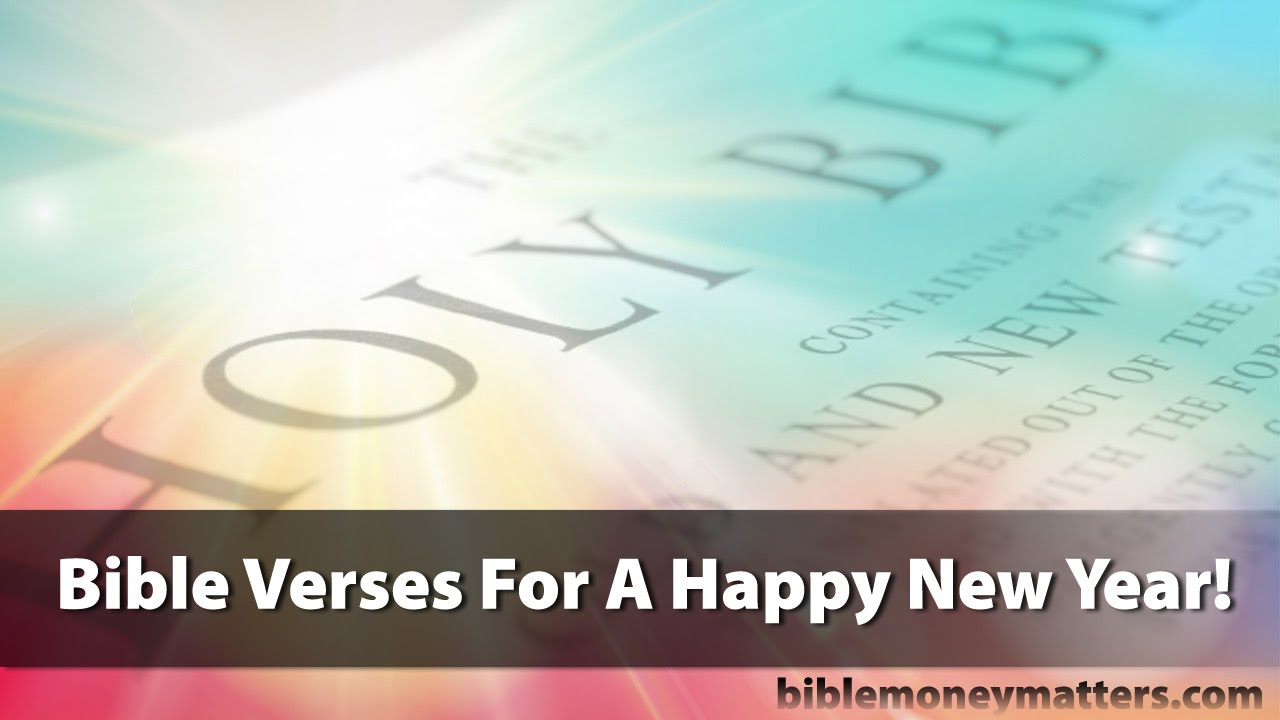 bible verses for a happy new year