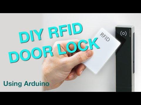 DIY RFID Door Lock - YouTube