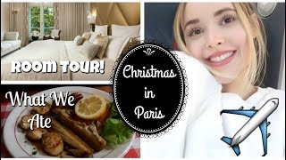 Travelling to Paris For Christmas | Vlogmas Days 22&23