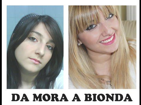 Da MORA A BIONDA come fare senza rovinare troppo i capelli  La mia hair  story 008c46044266