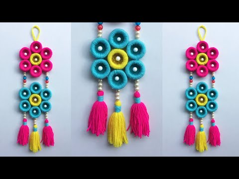 DIY Beautiful Wall Hanging For Home |Make All Over Design Hand Craft | Best Out Of Waste Idea