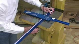 Universal Installation Of The Carter Accuright™ Circle Jig.