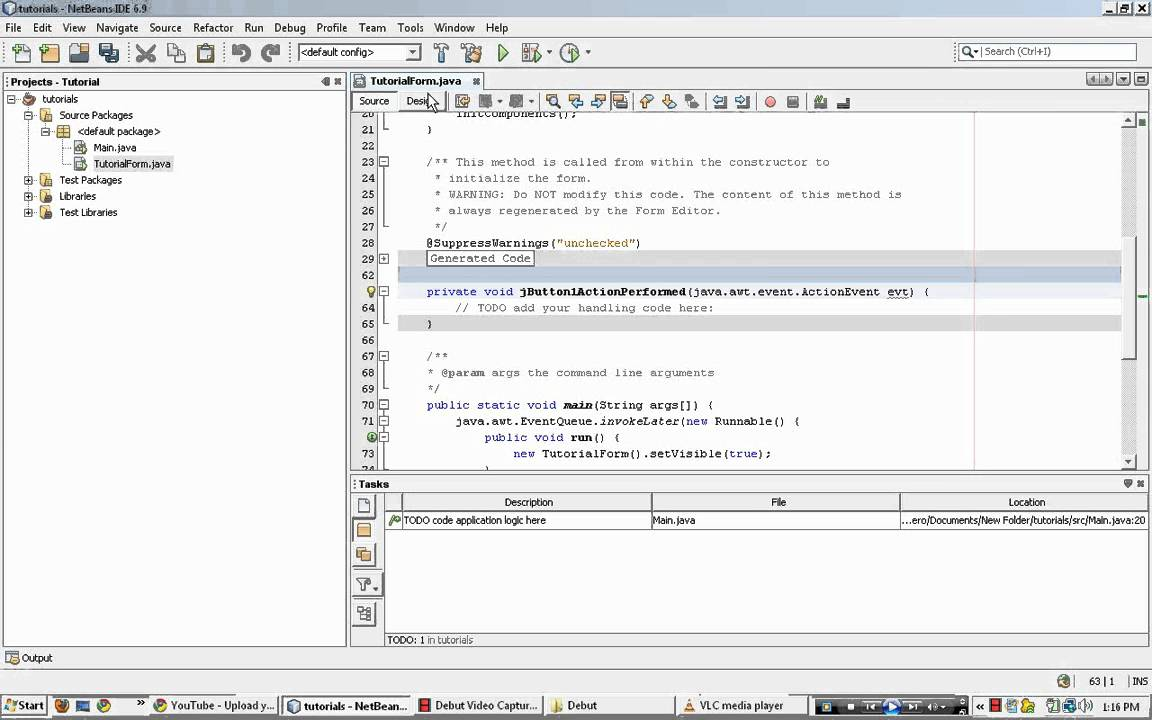 netbeans how to find out which compiler
