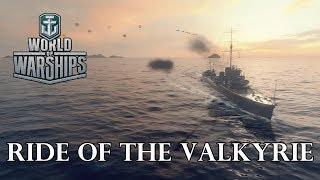 World of Warships - Ride of the Valkyrie