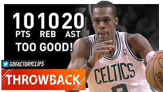Throwback: Rajon Rondo Triple-Double Highlights vs Hawks (2012.04.11) - 10 Pts, 20 Ast, 10 Reb!