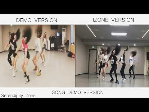- RUMOR - IZ*ONE Vs DEMO Version - DANCE PRACTICE