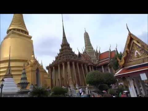 Thailand, Bangkok: A Walk around the stunning 'Grand Palace'