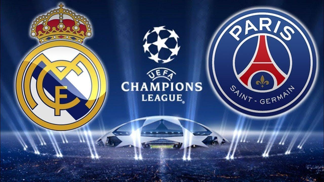 Real Madrid vs PSG 14/02/2018 UEFA Champions League 2018 Oitavas de Final [PES 2017] - YouTube