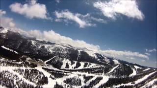 Aerial Tour of Monarch Mountain May 2013