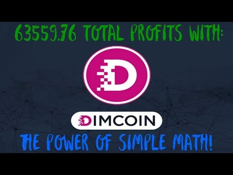 Cryptocurrency/Altcoins Investing: $63,559.76 Profit So Far Thanks To DIMCOIN ICO! [LIVE]