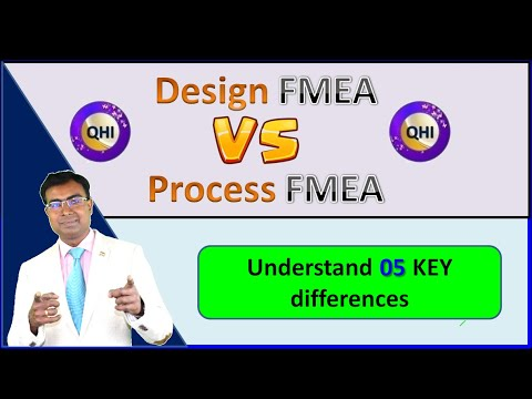 Download Design FMEA VS Process FMEA – Understand 05 key differences