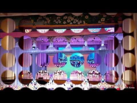Show in Mangyongdae  Children's Palace,  Pyongyang, North  Korea.