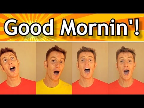 Good Morning Barbershop Song - Julien Neel (Trudbol A Cappella)