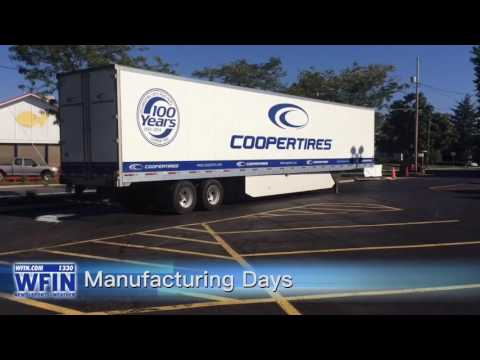 Manufacturing Days At Cooper Tire