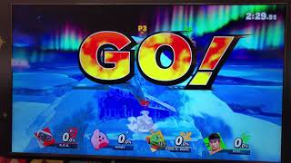 Super Smash Bros Ultimate early game play.