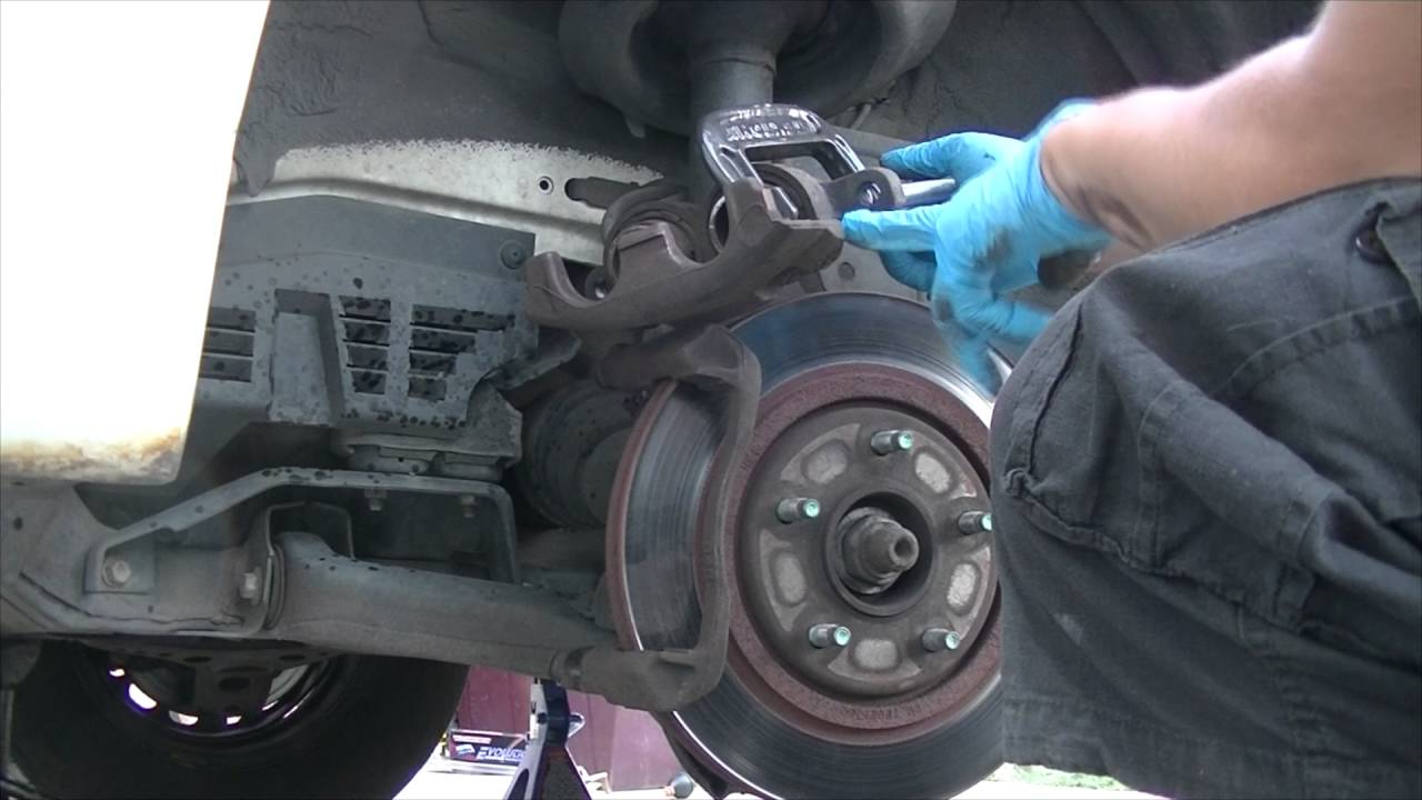 1998 Chevy Lumina How To Replace Front Brake Pads Rotors And Abs Chevrolet Berlinetta I Need A Diagram For The Rear Drum Brakes Wheel Speed Sensor Youtube