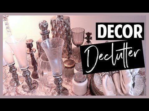 Declutter With Me // Home Decor