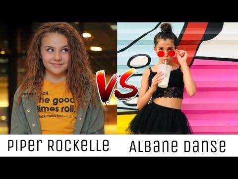Piper Rockelle VS Albane Danse ~ Tik Tok Battle ♡