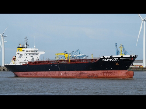SEAMULLET - oil products tanker - river thames 24/9/16