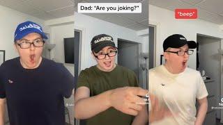 Luke Davidson - Dad and Son - Tiktok 😂