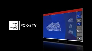 """How to use """"PC on TV"""" with Neo QLED 