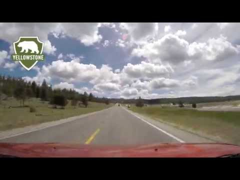 Yellowstone's Grand Loop Road - Madison to Old Faithful