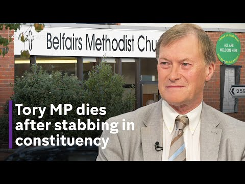 Conservative MP Sir David Amess dies after stabbing in constituency
