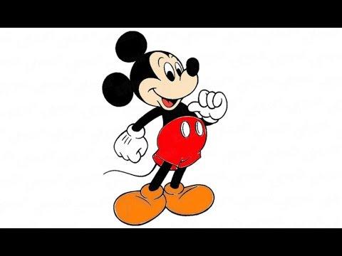 Как нарисовать мышонка Микки Мауса: инструкция от EvriKak