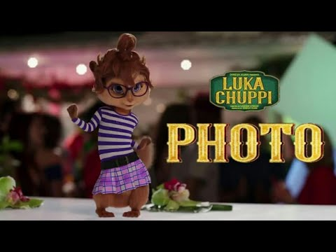 Luka Chuppi: Photo Song | Kartik Aryaan, Kriti Sanon | Goldboy | Chipmunks Version | Chipmunk Series