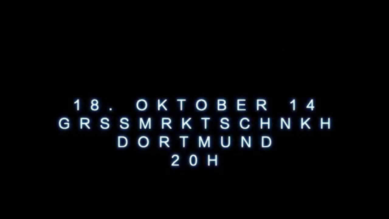 Elm Tree Circle am 18. Oktober in der Großmarktschänke, Dortmund ...