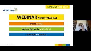 Seminário KA229 - Acreditação Erasmus 2021-2027