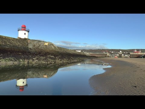 A walk on Burry Port Beach in glorious sunshine 18/01/2015