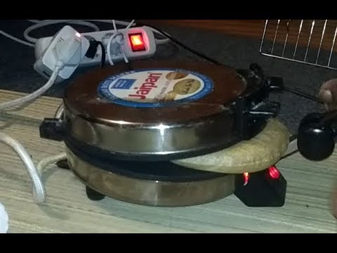 how to make roti in roti maker ( live demo uncut): soft roti: key to blow rotis
