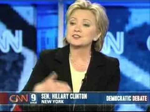 2007 NH Democratic Presidential Debate (Part 14)