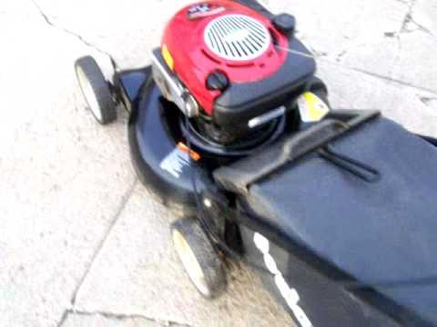 Craftsman Rear Bagger Mulcher Lawn Mower Demo 6 Apr 14