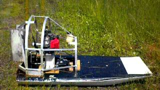 Rc Airboat 46cc Homelite Engine