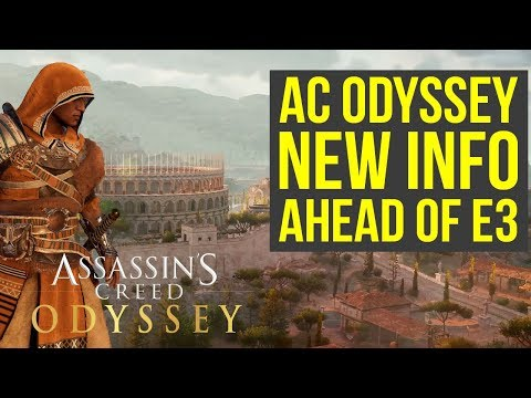 Assassin's Creed Odyssey New Info: Set Before Origins, Map Size & More (AC Odyssey E3 2018)