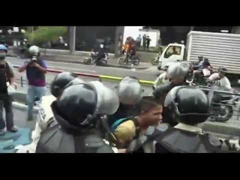 BBC News Caracas policeman dies in 'anti government' protests
