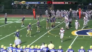 Colonials Football Wk 2 vs Reading 9/15/17