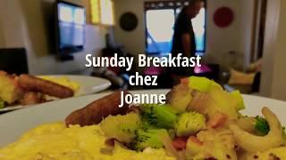 Easy Homemade Breakfast [미국식 아침식사] - Home Fries & Scrambled Eggs