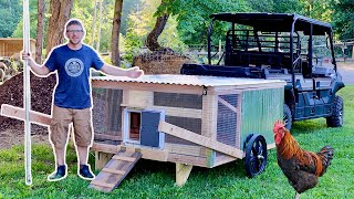 Finally, the Best Automatic Mobile Chicken Coop