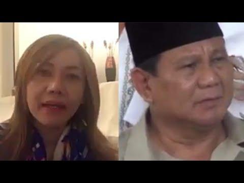 Emak2 sembur Prabowo yg bilang jangan jd ojek, hrs jadi pengusaha. 'Trus caranya gimana ?,' katanya